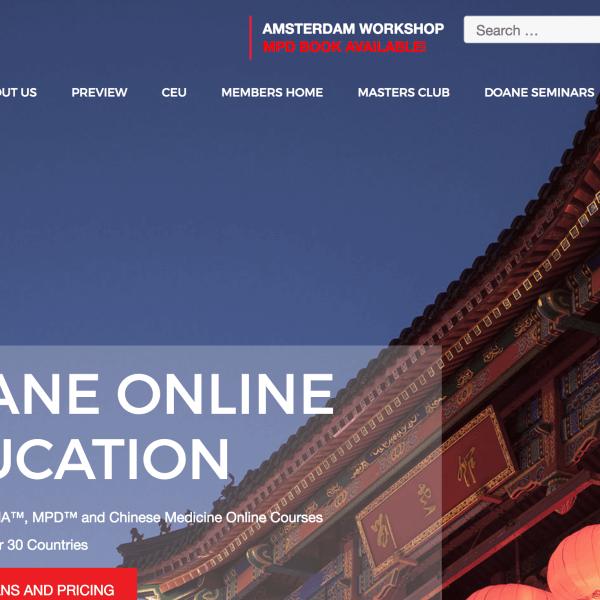 Doane Website